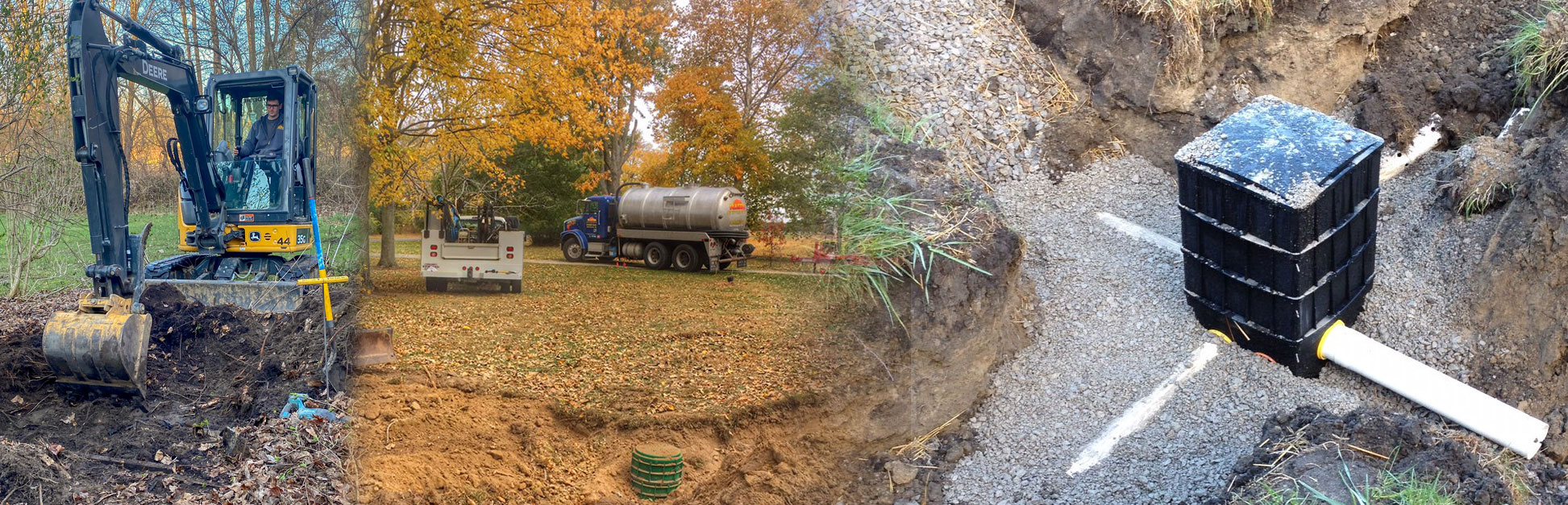 Septic system installation in Bowling Green Ohio