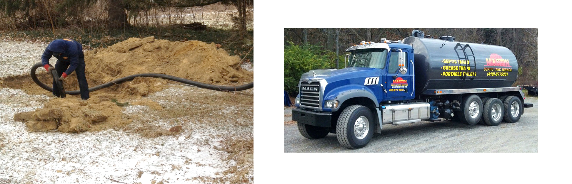 Septic System Service   Water Well Service   Septic Tank
