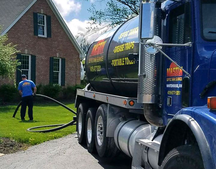 Septic tank pumping and cleaning companies in Wood County Ohio